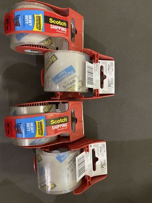 Scotch shipping tape heavy duty for Sale in Los Angeles, CA