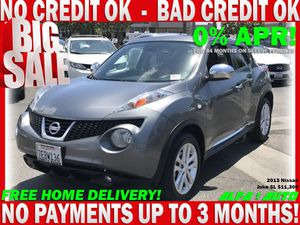 2013 Nissan Juke sl suv crossover gray clean title automatic bad credit finance car dealer lease uber lyft for Sale in Long Beach, CA