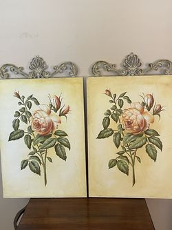 2 Vintage Style Canvas With Metal Top Accent for Sale in La Habra Heights,  CA