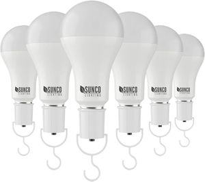 6 Pack Rechargeable Emergency Bulb Battery Powered LED Bulb Portable Camping Light for Sale in Arlington, TX