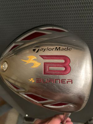 RH - TaylorMade Burner '09 Driver - Stiff Flex **Note Small Dent Bottom Heel⚡️Does not effect INTEGRITY for Sale in Cypress, CA
