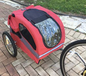 Medium Size Dog Bike Trailer for Sale in Apple Valley, MN