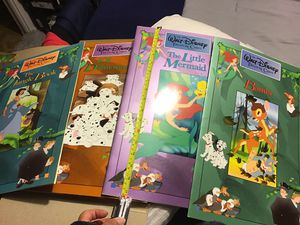 The Walt Disney treasure Chest 4 large books in very good condition for Sale in Vernon, CA