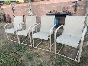 Hamilton chairs. U haul tow bar. Custom made table for Sale in Norwalk, CA