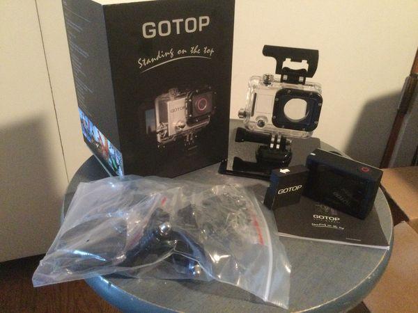GoTop Action Splashproof Dustproof Camera - NEW