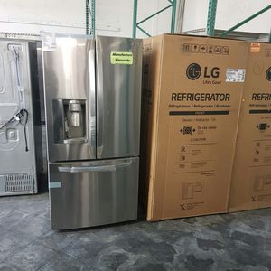 NEW LG 26cu French Door Stainless Refrigerator for Sale in Chino Hills, CA