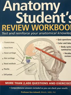 The Anatomy Workbook for Sale in Riverdale,  GA