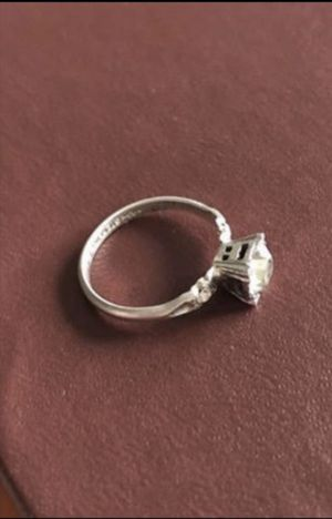 Sterling Silver 925. Size 4. Engagement Ring. CZ. Jewelry for Sale in Fort Myers, FL