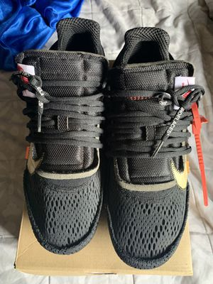 NIKE OFF WHITE PRESTOS SIZE 11 for Sale in Los Angeles, CA