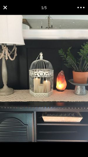 Decor bird cage candle holder eclectic for Sale in Gresham, OR
