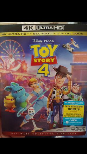 Toy Story 4 4K - Digital code only for Sale in Lewisville, TX