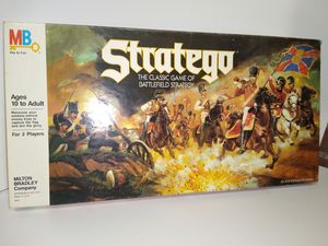 Stratego board game, Milton Bradley, 1988 for Sale in Baltimore, MD