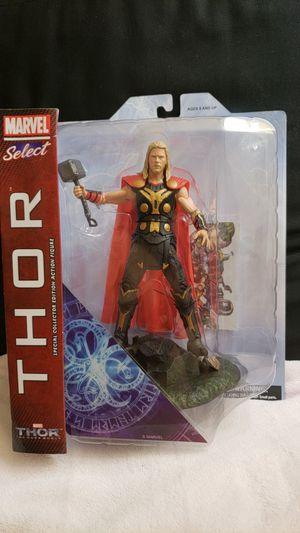 New unopened Marvel Select Thor Special Collector Edition for Sale in Bellflower, CA