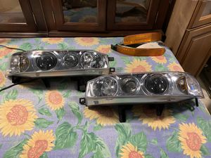 1993 Honda Accord cb7 one piece jdm headlights for Sale in Seattle, WA