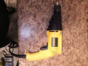 DeWalt power cord drill like new for Sale in Philadelphia, PA