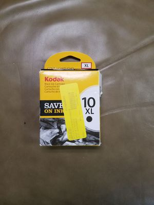 Kodak 10XL ink cartridge (black only) for Sale in Lexington, KY