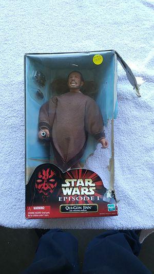 Star wars episode 1 Qui-Gon Jinn with tatooine poncho for Sale in Bradenton, FL