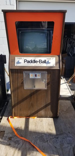 Paddle ball pong game early Williams gaming machine for Sale in East Providence, RI