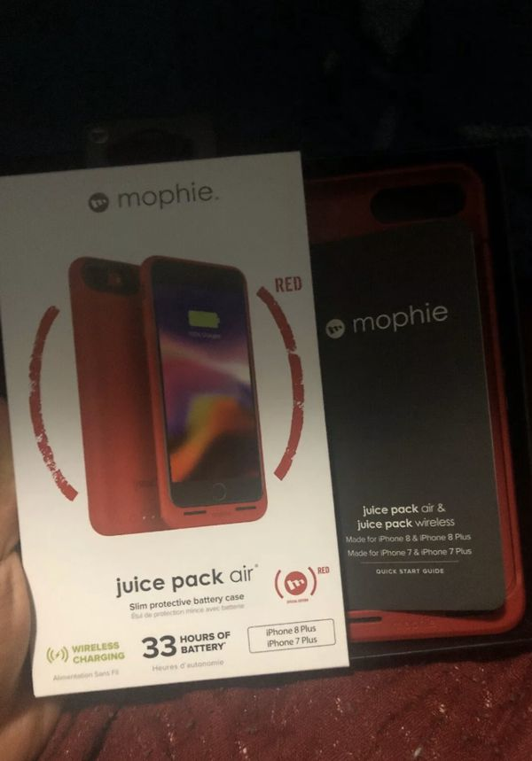 Mophie iPhone 8+ charging case
