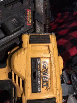 Dewalt Framing battery operated nail gun for Sale in San Antonio, TX