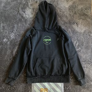 Off-White Hand Logo Print Hoodie for Sale in Holts Summit, MO