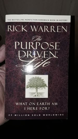 The Purpose Driven Life, paperback, by Rick Warren for Sale in PA, US