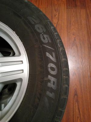 265/70R17 tires & 6hole Chevy Rims for Sale in Phoenix, AZ