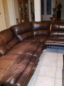 Leather Sectional for Sale in Oviedo, FL
