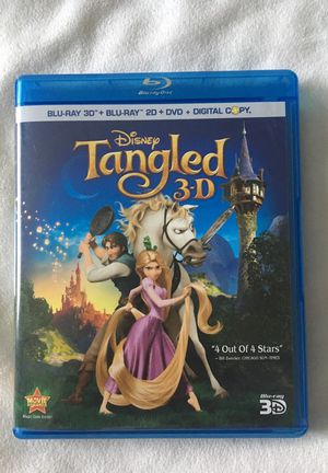 Disney Tangled Bluray 3D Only! for Sale in Vista, CA