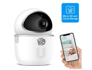Doenssi Baby Monitor Pet Camera Indoor Security Camera Wireless 1080P HD 2.4G WiFi IP with Pan/Tilt Night Vision Motion & Sound Detection for Sale in Rancho Cucamonga, CA