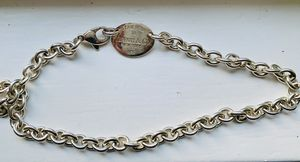 Tiffany &Co. authentic silver necklace. for Sale in Chagrin Falls, OH