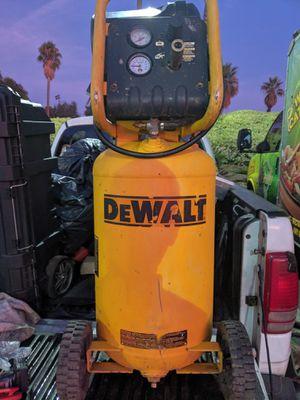 amazing dewalt upright air compressor for Sale in Corona, CA