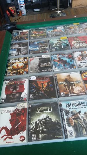 video games $3 per game if buying 10 or more for Sale in Salt Lake City, UT
