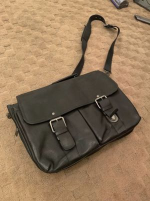 Kenneth Cole Reaction Mens Leather Briefcase Business Case, Laptop Bag for Sale in Miami, FL
