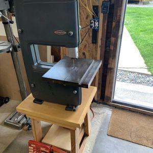 "Model 103.24280 craftsman 12"" vintage bandsaw for Sale in Puyallup, WA"