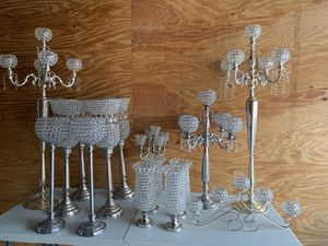 Crystal candles holders for Sale in Oakland Park, FL