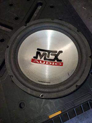 Brand New MTX Thunder 4500 Subwoofer for slim box for Sale in Blue Springs, MO