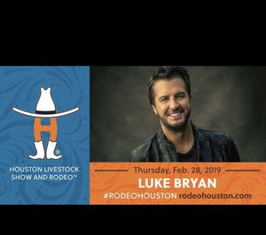Luke Bryan Houston Rodeo for Sale in Houston, TX
