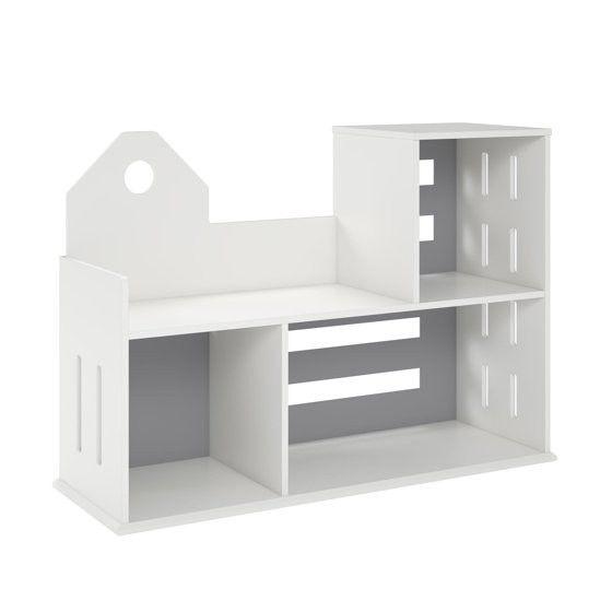 Novogratz Addison city Bookcase in white