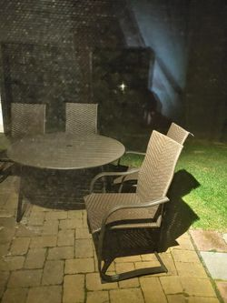 Outdoor Table With 4 Chairs for Sale in Frederick,  MD