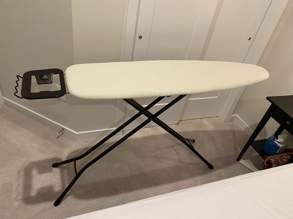 Adjustable Height Ironing Board with Caddy - BRAND NEW