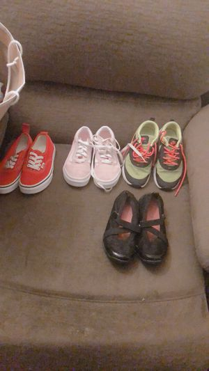 Al for 50 like new vans Nike for Sale in Allentown, PA