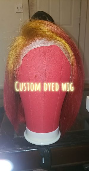Custom dyed lace wig for Sale in Tallahassee, FL