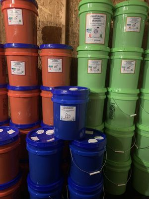 Laundry, Dish Detergent, Fabric Softener 5 Gallon Buckets for Sale in Baltimore, MD