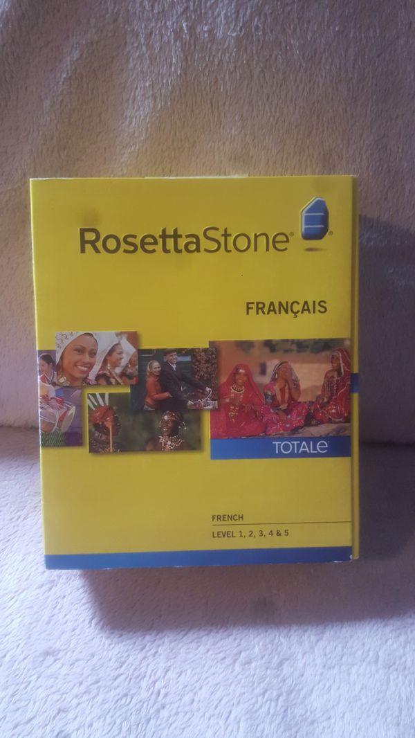 Rosetta Stone French Version 4 Brand new.
