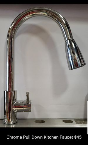 Pull down kitchen faucet chrome for Sale in Bakersfield, CA