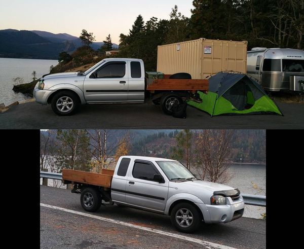 CALMini's awesome Hard-body... - Expedition Portal  |Nissan Frontier Flat Bed