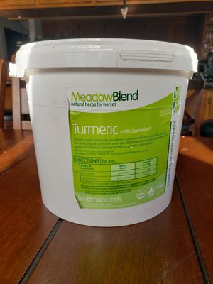Feedmark MeadowBlend Turmeric with BioPerine for horses for Sale in Lake Stevens, WA