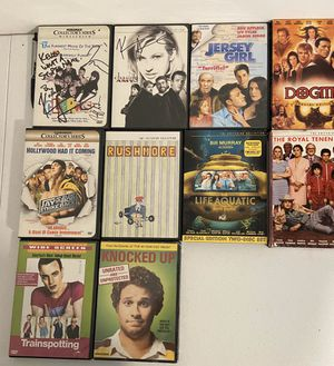 10 DVDs for sale, chasing Amy, clerks, Trainspotting for Sale in Alexandria, VA