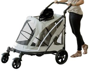 New Pet Gear NO-Zip Push Button Zipperless Dual Entry pet dog expedition stroller SUMMERLIN for Sale in Las Vegas, NV